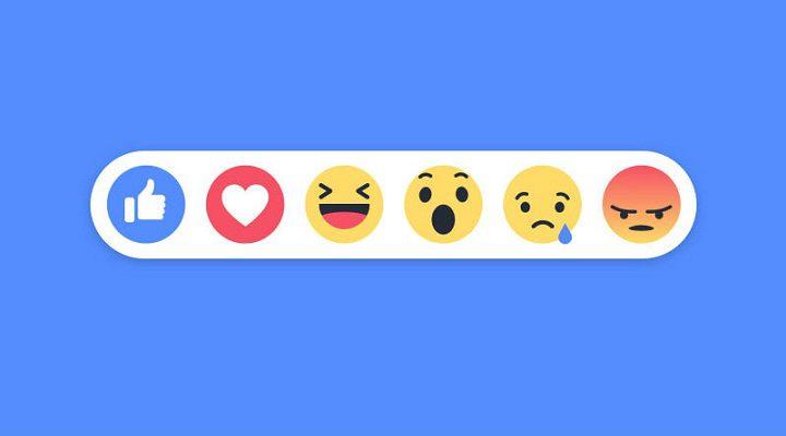 Nuevo algoritmo en Facebook basado en las reacciones